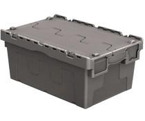Mehrwegbehälter 600x400x265 Hell grau • 46 Liter
