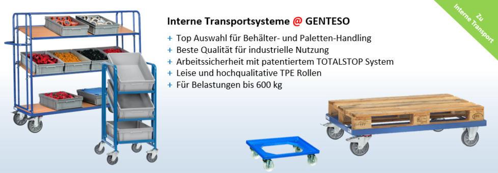 Transportgeräte | Transportroller | Etagenwagen | Palettenfahrgestell | Treppenkarren | Palettenfahrgestell | Materialständer