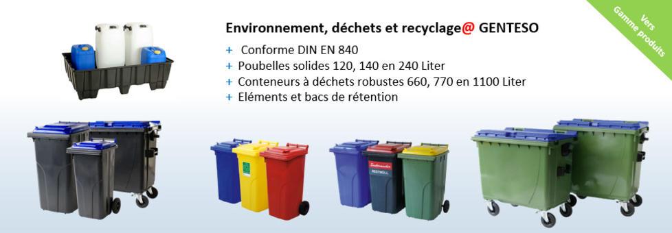 Environnement, déchets et recyclage