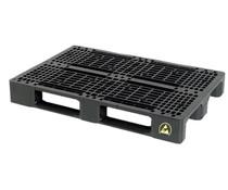 ESD Plastic EURO pallet 1200x800x150 • heavy duty