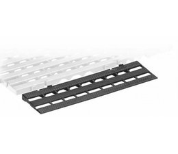 ESD Ramp for conductive plastic floor tile