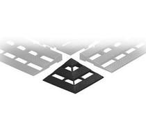ESD Eckverbindung für Leithähige Kunststoff- Bodenroste