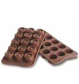 Chocoladevormen Rond