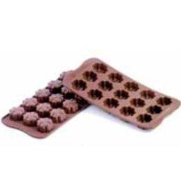 Chocoladevormen Bloemen