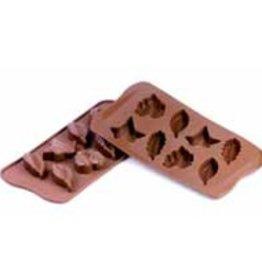 Chocoladevormen Bladeren