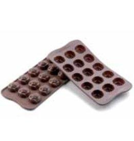 Chocoladevormen Roos