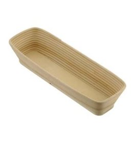 Rotan/hout deegrijsmand, recht 5000 gram
