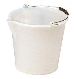 Kunststof emmer, 12 liter