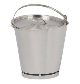 RVS emmer, 15 liter