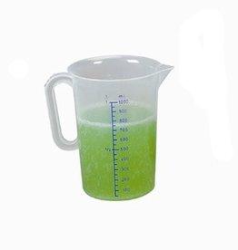 Kunststof maatbeker, 1 liter