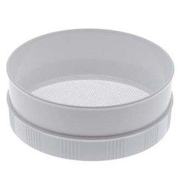 Kunststof meel -en suikerzeef 30,5 cm