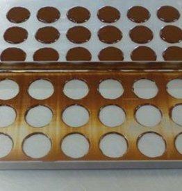 Choco trekbak 24 vormen (3 x 8)