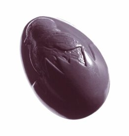 Kunststof bonbonvorm, schelp