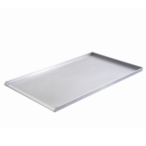 Aluminium bakplaat 80 x 100 (geperforeerd)