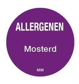 Allergenen etiketten - mosterd