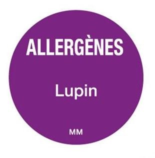 Allergenen etiketten - lupine