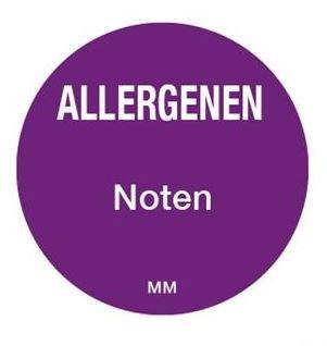 Allergenen etiketten - noten