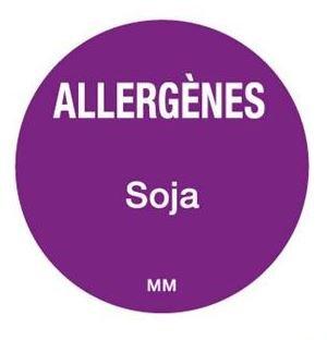 Allergenen etiketten - soja