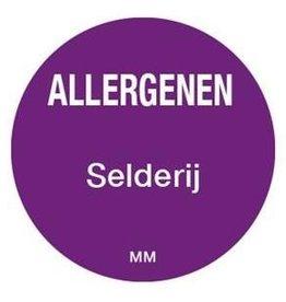 Allergenen etiketten - selderij