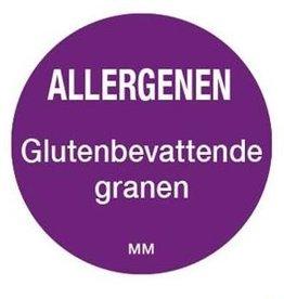 Allergenen etiketten - gluten