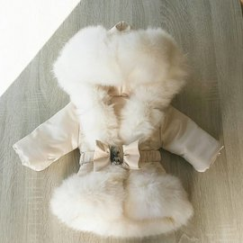 Fur Collar Jackets Girls