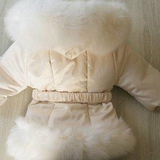 Dames - winterjas inclusief bontkraag