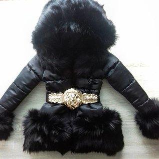 Winterjas Special Edition Luxury Faux Fur Leo