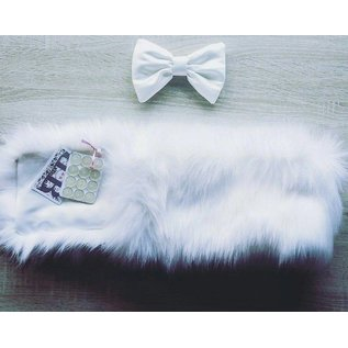 Fur set for Buggy or pram