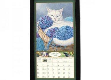 vertical calendar frame