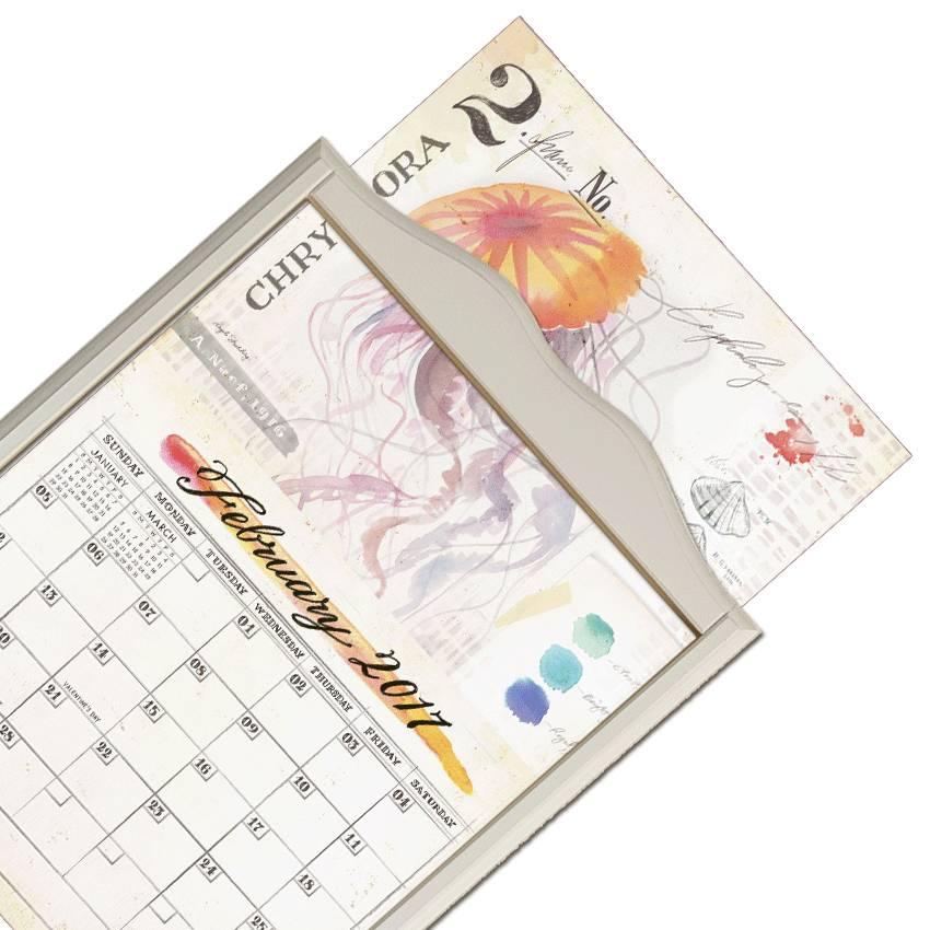 Kalenderrahmen classic weiß | The Lang Store