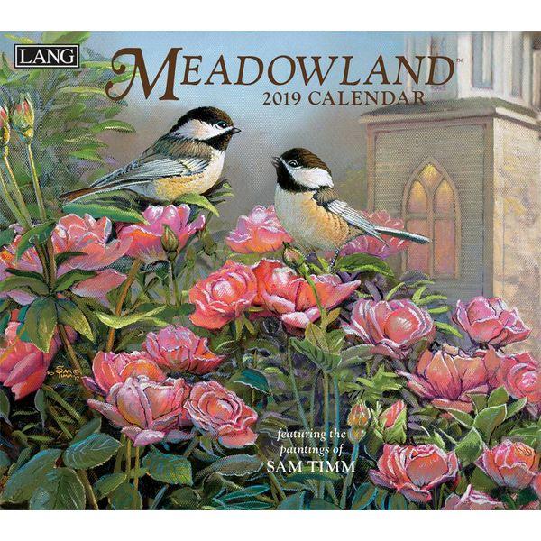 LANG MEADOWLAND 2019 Wall Calendar