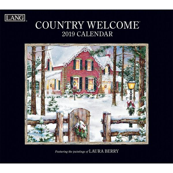 LANG COUNTRY WELCOME  2019 Wall Calendar