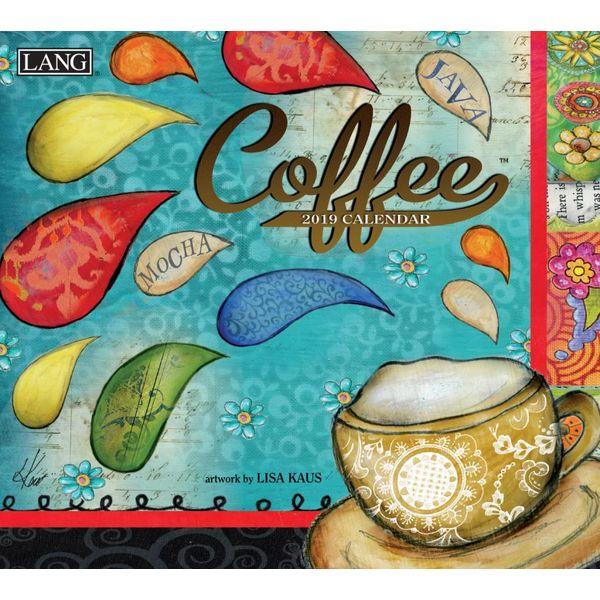 LANG COFFEE 2019 Wall Calendar