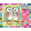 OWL FRIENDS Box Note Cards
