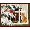 KITTEN CHRISTMAS   Assorted Boxed Christmas Cards