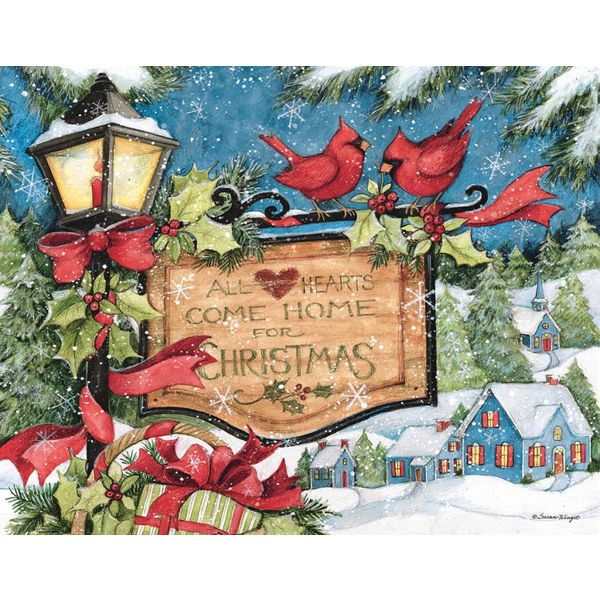 LANG HEARTS COME HOME Boxed Christmas Cards
