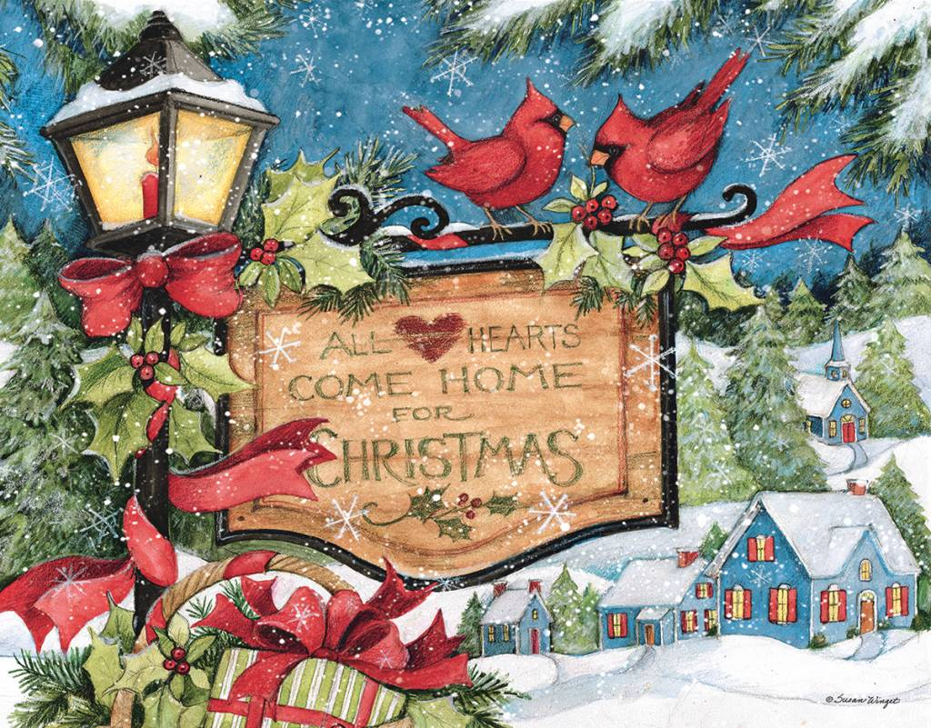 HEARTS COME HOME Boxed Christmas Cards | The Lang Store