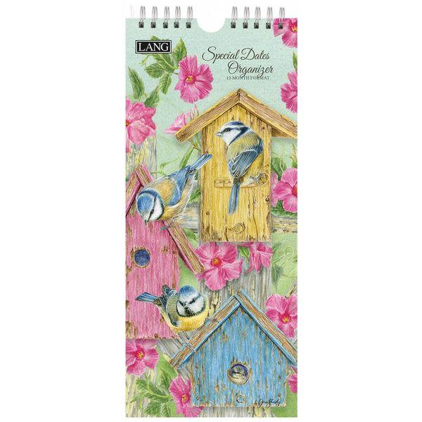LANG BIRDS IN THE GARDEN Geburtstagskalender