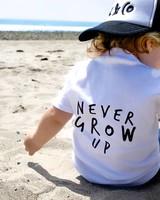 KIDULT & CO Never grow up t-shirt