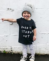 KIDULT & CO Born to stand out t-shirt