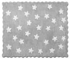 Kinderteppich sterne grau  Kinderteppich grau mit weißen Sternen - Babyboutique AnaLou