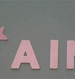 Batle Nicolau Wanddekoration Stern rosa groß