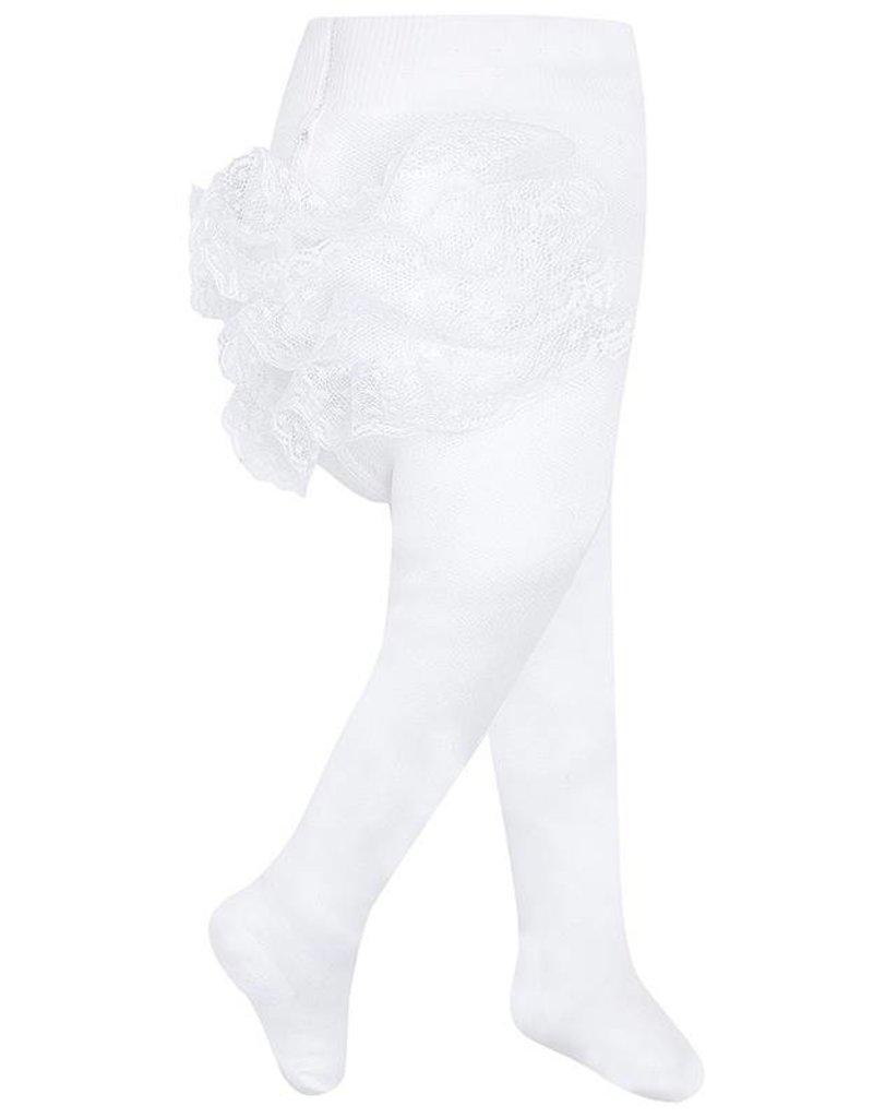 Mayoral Strumpfhose mit Rüschen weiß