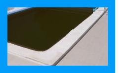 Bruin ijzerwater zwembad