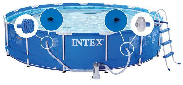 Intex Filterpomp (28638GS) 3407l/u