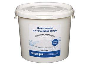 Interline Shock 55 Chloorgranulaat (5kg) Organisch