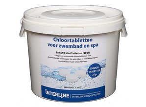Interline Long 90 Mini Tabletten 20gr (2,5kg) Organisch