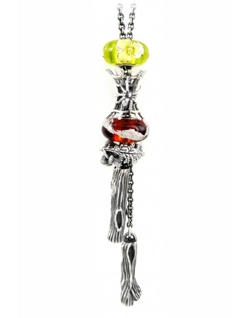 Faerybeads Oak Tree Talisman Necklace