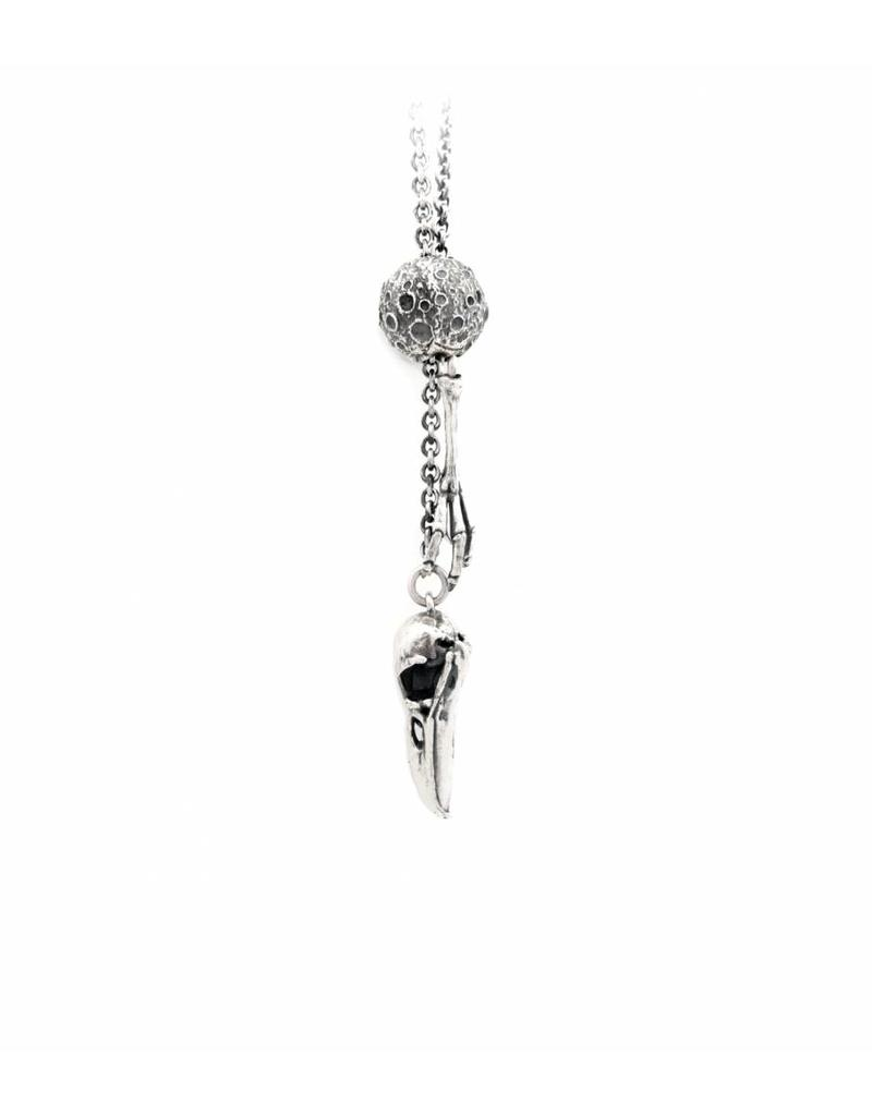 Faerybeads Raven Talisman Necklace