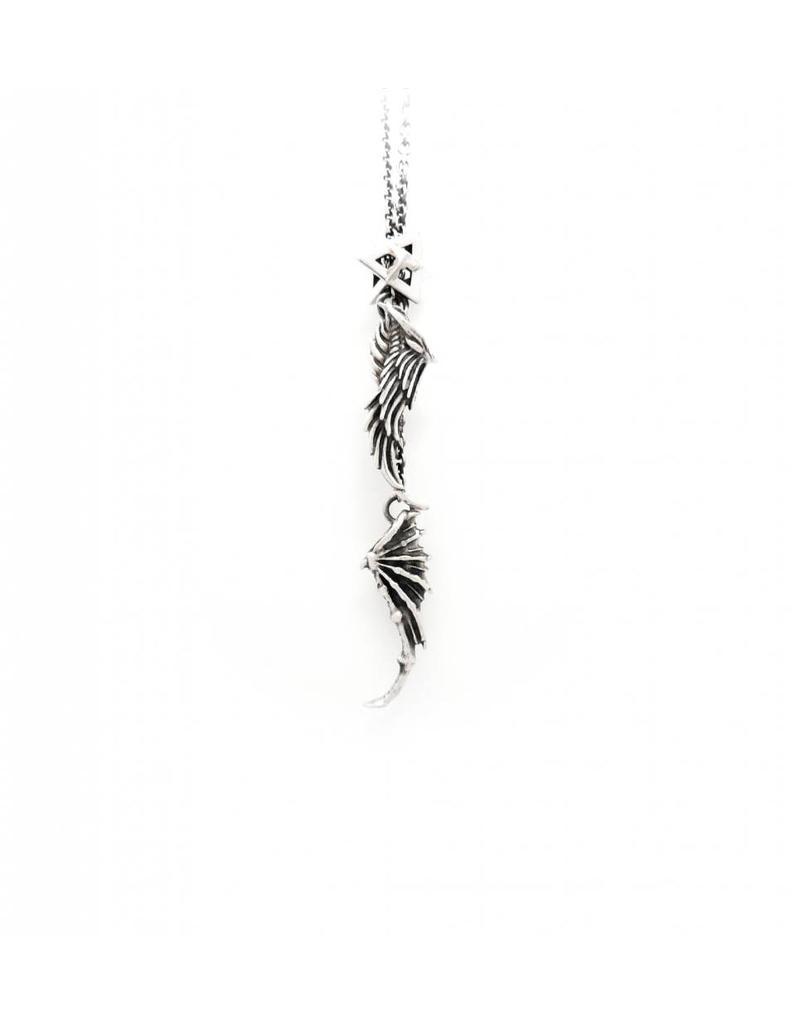 Faerybeads Angel or Devil Talisman Necklace